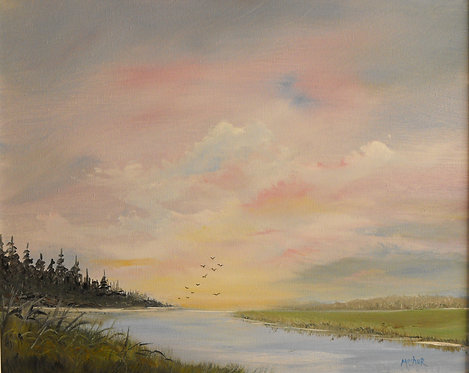 Timber River by Ed Mosher