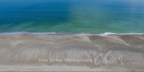 Beach Sanctuary Ocean Flyover by Stan Cottle