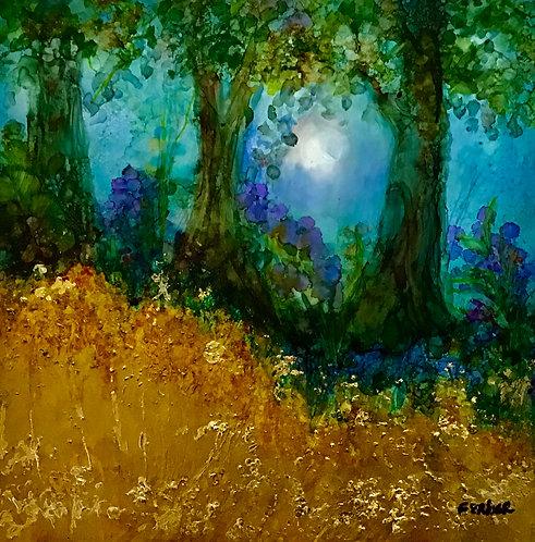 Golden Field by Sherry Ferber