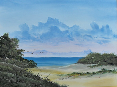 Natural Beach Access by Ed Mosher