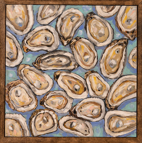 Oysters on the Half Shell by Trish Jones