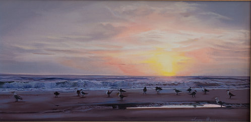 Greeting the Day by Vickie Maley