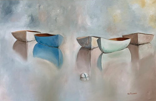 The Pastel Fleet by Ned Flemming