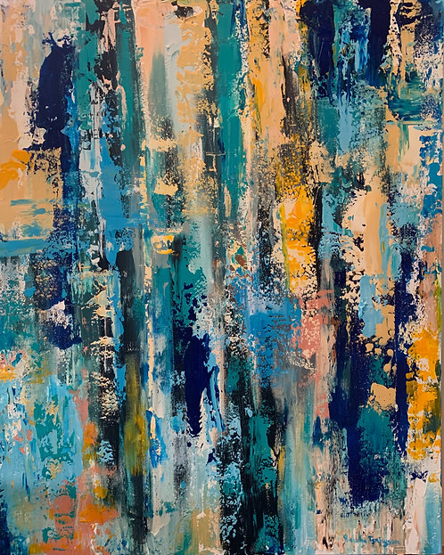 Blue and Gold by Jeanne Tennyson
