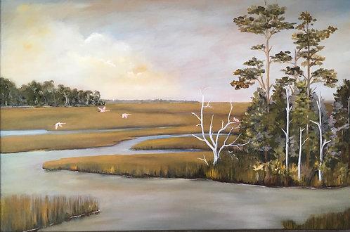 Crooked River by Ginger Bender