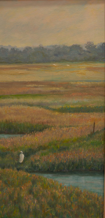 Morning on the Marsh by Diane Chaldares