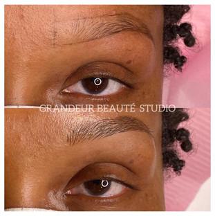 Eyebrow Microblading