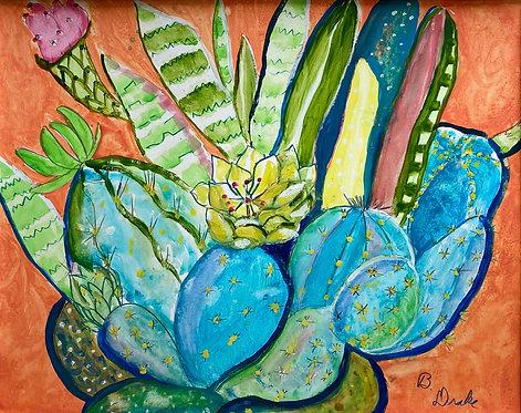 Cactus I by Betsy Drake Hamilton