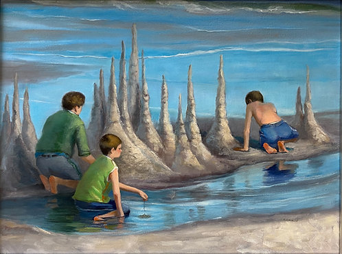 Sand Towers by Rebecca McDannold