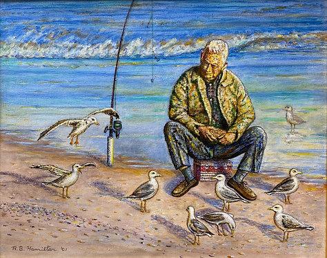 No Fish Today by Dick Hamilton