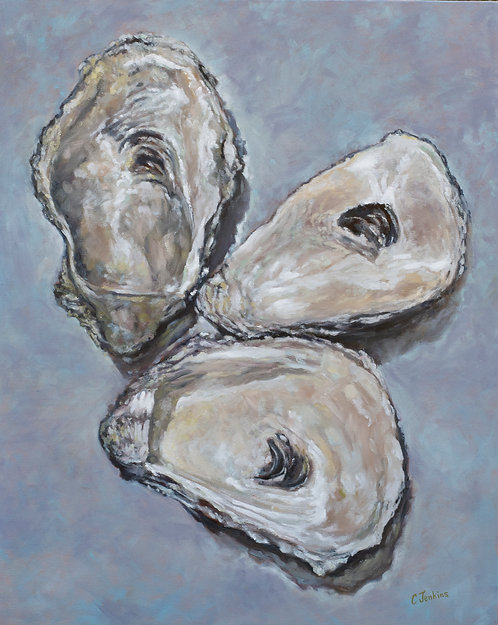 Oyster Blues by Cindy Jenkins