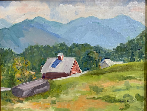 Green Mountains of Vermont by Janet Kolar