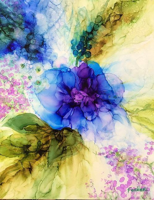 Rhapsody in Blue by Sherry Ferber