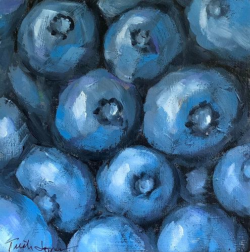 Blueberries by Trish Jones