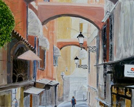 Street in San Remo by Gary Rubin