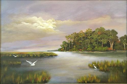 Marsh Creek by Ginger Bender