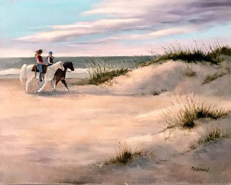 Early Ride by Rebecca McDannold