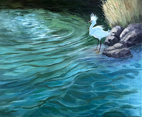 River Fishing by Rebecca McDannold
