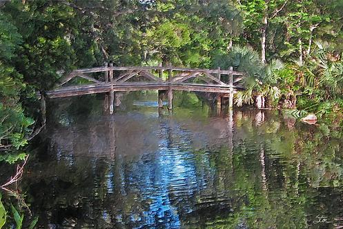 Monet Bridge by Stan Cottle