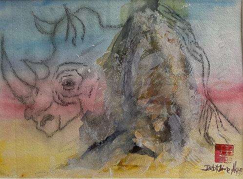 Rhino by Deb Kline Ahern