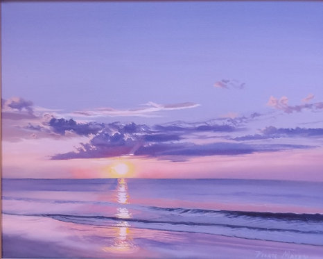 Quiet Sunrise by Vickie Maley