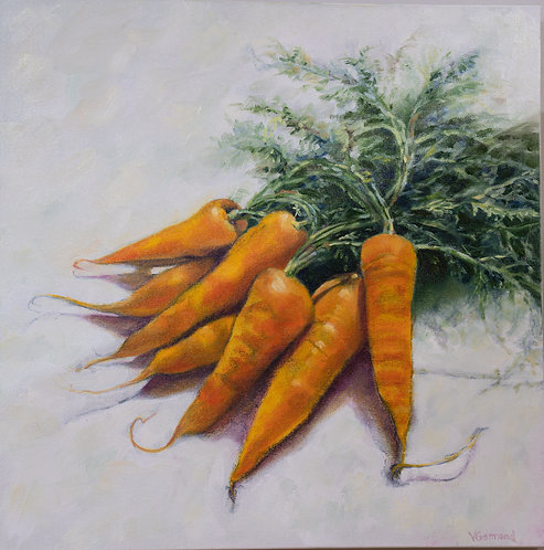 Carrots II by Victoria Germond