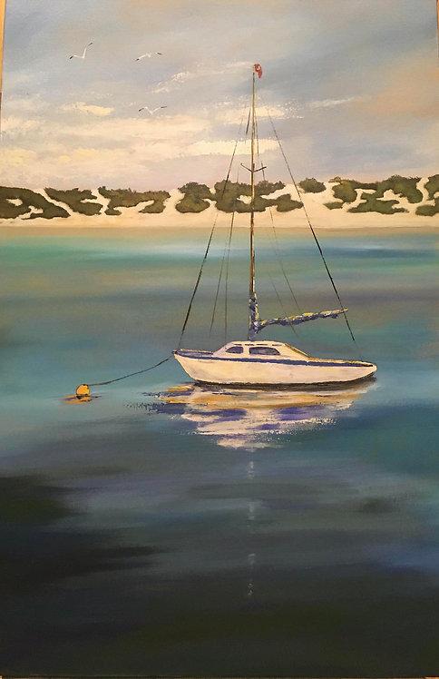 At Anchor by Ginger Bender