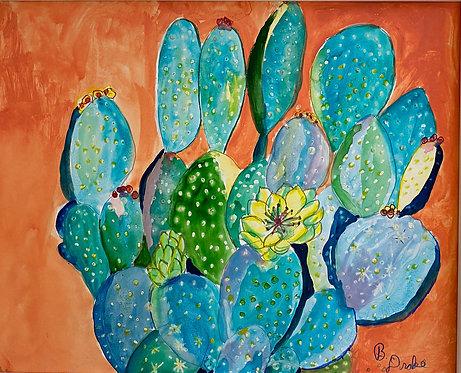 Cactus II by Betsy Drake Hamilton