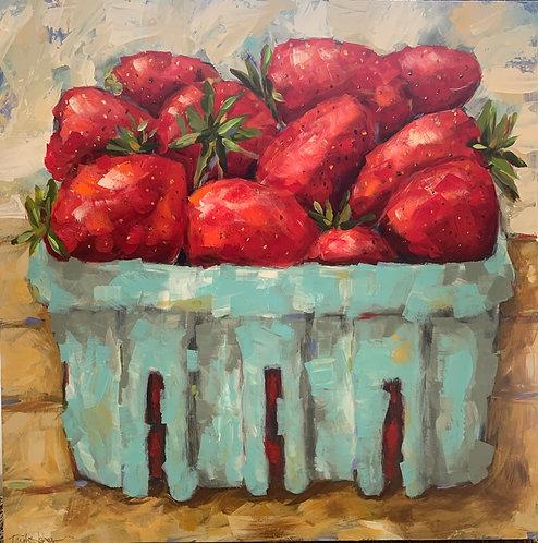 Strawberries by Trish Jones