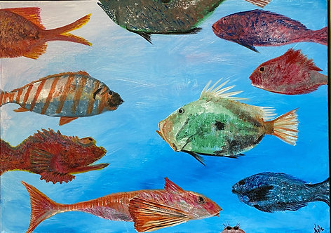 Fish of a Different Color by Noelle Almond