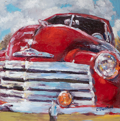 Red Chevy by Cindy Jenkins