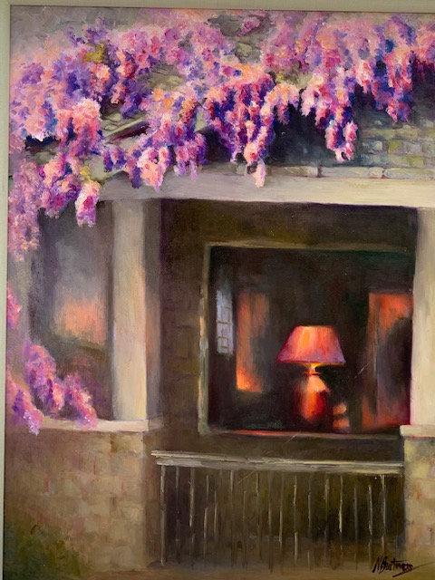 Wisteria by Nancy Bartmess