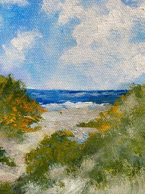 Beach Side by Lois Grunder