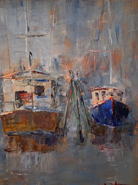 Working Boats by Nancy Bartmess