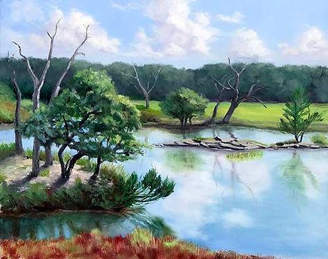 Tiger Point Marsh by Rebecca McDannold