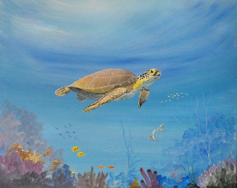 The Turtle's World by Ed Mosher