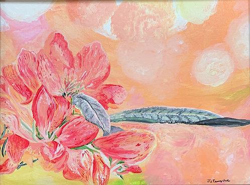 Flower in Focus by Jeanne Tennyson