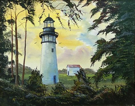 Amelia Lighthouse by Ed Mosher