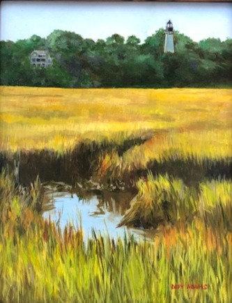 Egan's Creek Salt Marsh by Depy Adams
