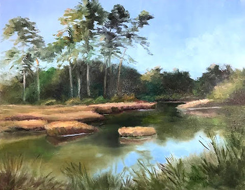 Marsh Afternoon by Rebecca McDannold