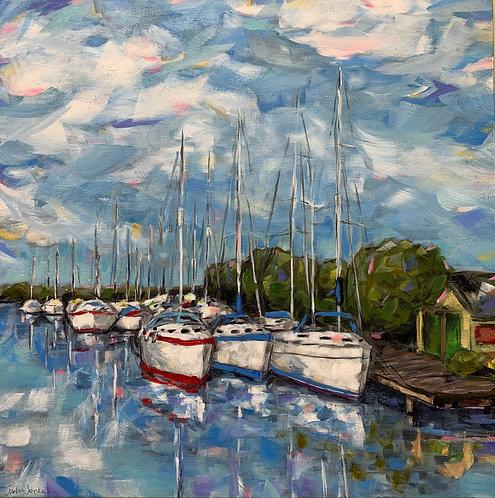 Ready to Sail  by Trish Jones