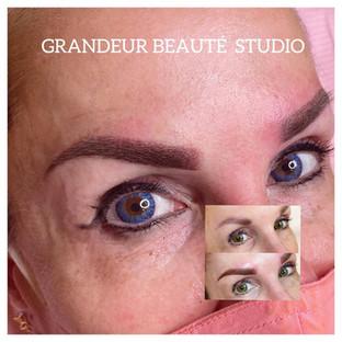 Eyebrow Powder Brow cover-up