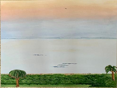Calm Evening by Jeanne Tennyson