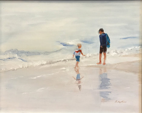 I Hope You Still Feel Small When You Stand Beside the Ocean by Barbara Hopkins
