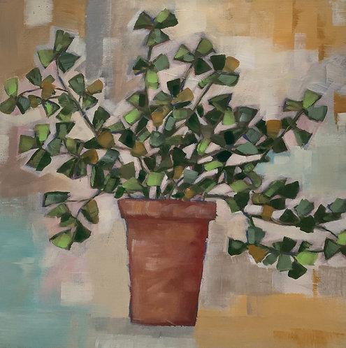 Office Plant by Trish Jones