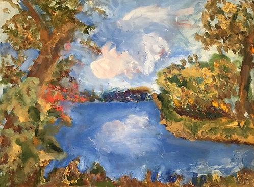 On the Creek by Janet McGugan