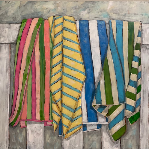 Towels in the Afternoon  by Trish Jones