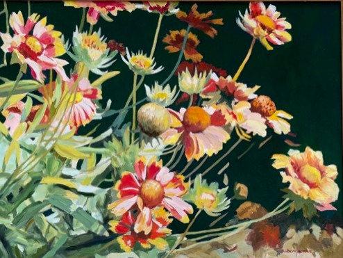 Blanketflowers by Depy Adams