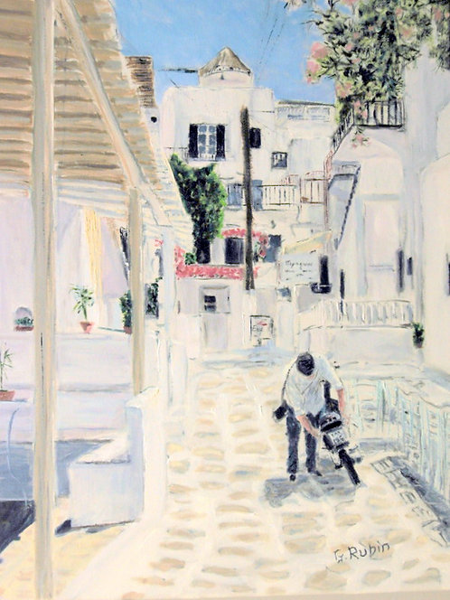 The Commuter by Gary Rubin