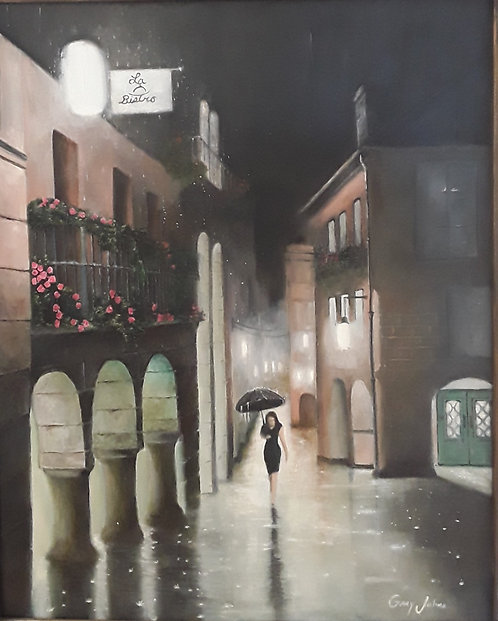 Late Night Rain by Gary Johns